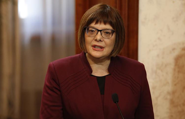 President of National Assembly of Serbia Maja Gojkovic