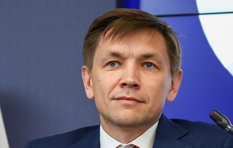 Russian Minister of Digital Development, Communications and Mass Media Konstantin Noskov