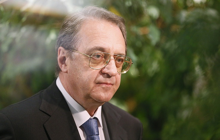 Russian President's Special Envoy for the Middle East and African countries, Deputy Foreign Minister Mikhail Bogdanov