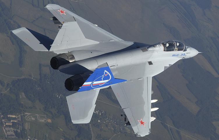 Новейший российский многофункциональный истребитель МиГ-35