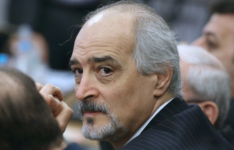 Постоянный представитель Сирии при ООН Башар Джаафари