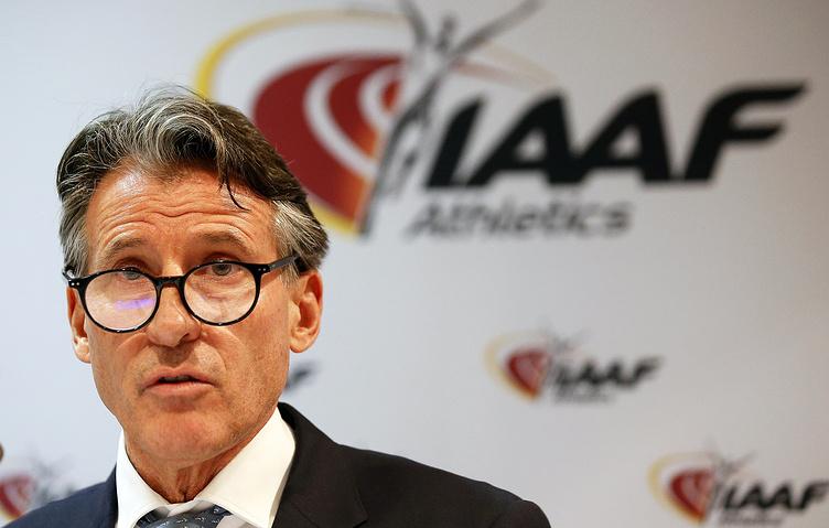 Глава IAAF Себастьян Коу